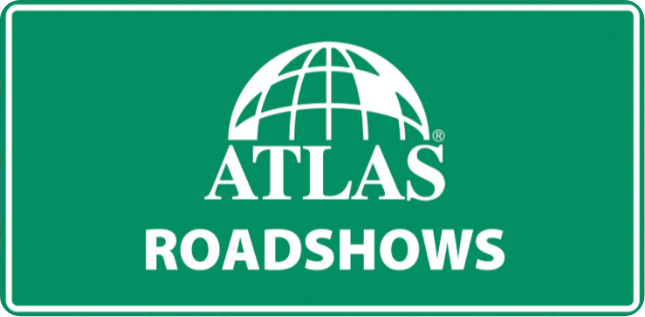 atlas roadshow billboard